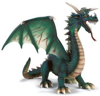Cool Green Dragon from Schleich