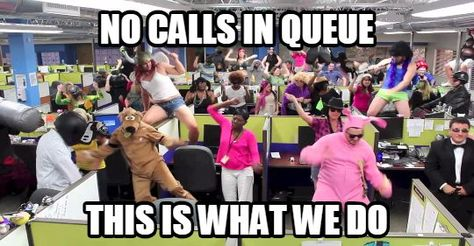 Call Center Party