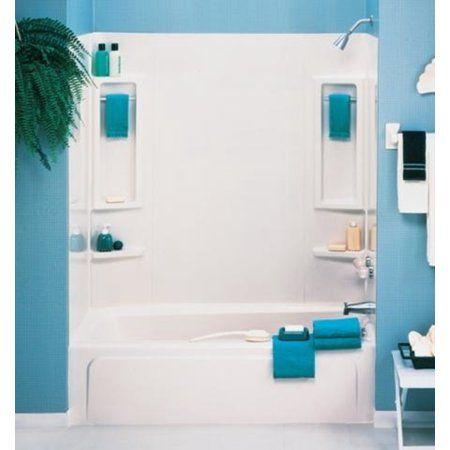 vantage 5 piece bathtub wall surround