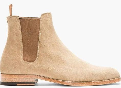 light tan chelsea boots mens