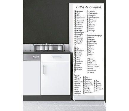 Stickers Para Nevera Lista De La Compra Blanca Leroy Merlin Compras Listas De La Compra Lista De La Compra