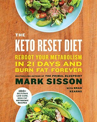 The Keto Reset Diet By Mark Sisson Metabolism Reset Diet Metabolic Diet Keto Meal Plan