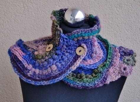 Handmade freeform crochet  scarf  shawl stole by handmadestreet101