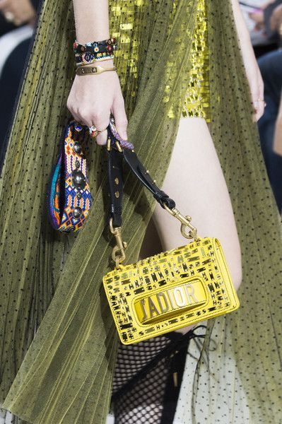 Christian Dior at Paris Fashion Week Spring 2018 - Can We Please Have These Paris Runway Purses? - Photos