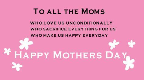 8 best Motheru0027s Day Greetings images on Pinterest Happy mothers - leinwandbilder für küche