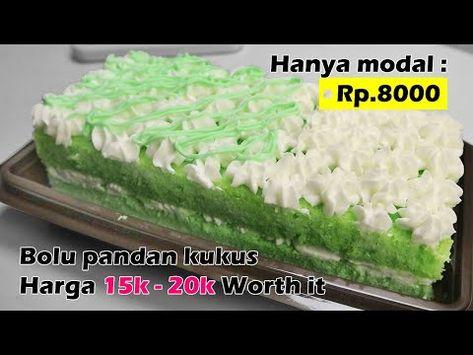 Dengan Modal Rp 8000 Buat Bolu Pandan Kukus Untuk Jualan Lengkap Hitungannya Resep Lengkap Youtube Bolu Pandan Resep Burger Resep
