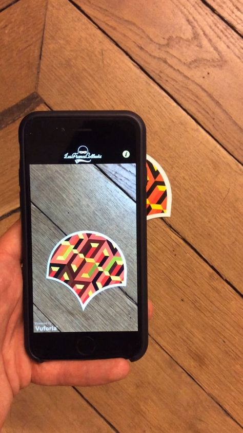 Augmented Reality Stickers by 9ème concept & MNSTR