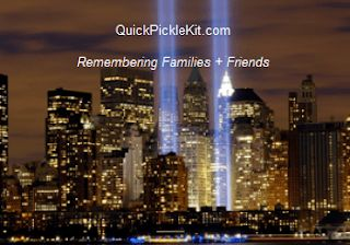 QuickPickleKit.com  #neverforget #prayer – we support #firefighters , #police + #disabled www.QuickPickleKit.com. #September11 #NeverForget911 #911Anniversary #911Memorial #911neverforget #flight93 #pa #groundzero #Remember #Remembering911 #WorldTradeCenter #WednesdayThoughts #Wednesday #WednesdayMotivation #Honor911 #family #friend #ComefromAway #firefighter #medical #spiritual #music #PA #NY #kind #Jewish #Christian #Muslim #Hindu #Buddhist #compassion #humanity #gratitude #QuickPickleKit
