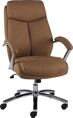 Staples Fayston Fabric Home Office Chair Tan Brown Home Office Chairs Office Chair Chair