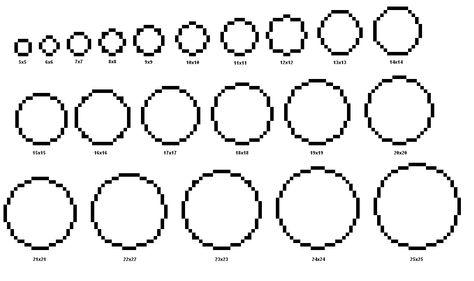 How To Make Pixel Cross Stitch Circles Minecraft Idee