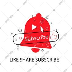 Youtube Subscribe Button With Bell Like Youtube Subscribe Subscribe Button Png And Vector With Transparent Background For Free Download Youtube Logo Youtube Banner Template Youtube Editing