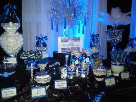 Wedding Blue Ideas Candy Bars 21 Ideas Wedding Candy Table Candy Buffet Wedding Blue Candy Buffet