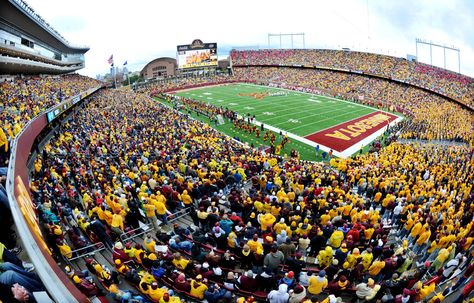 Go to a Gopher Football Game