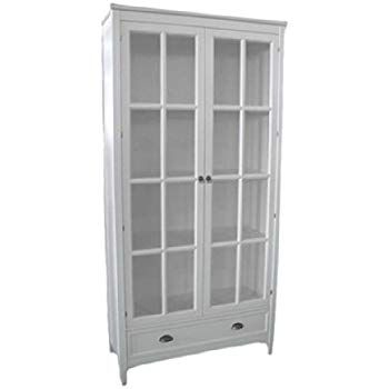 White Bookshelf With Glass Doors Shows Your Rich Personality Bookcase With Glass Doors White Bookshelves Furniture White bookcase with glass doors