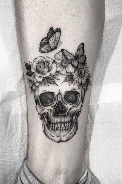 Small Skull Tattoos Tattoo Ideas Tiny Skull Tattoos Feminine Skull Tattoos Skull Tattoo Flowers
