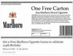 photograph regarding Printable Marlboro Coupons titled Pin upon cigarette coupon codes