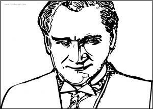 Ataturk Siluet Resmi Boyama Sayfasi Ataturk Siluet Resmi Boyama Sayfasi Pdf Indir Insan