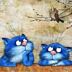 380 Best Cats Birds 2 Images Cats Art Cat Art
