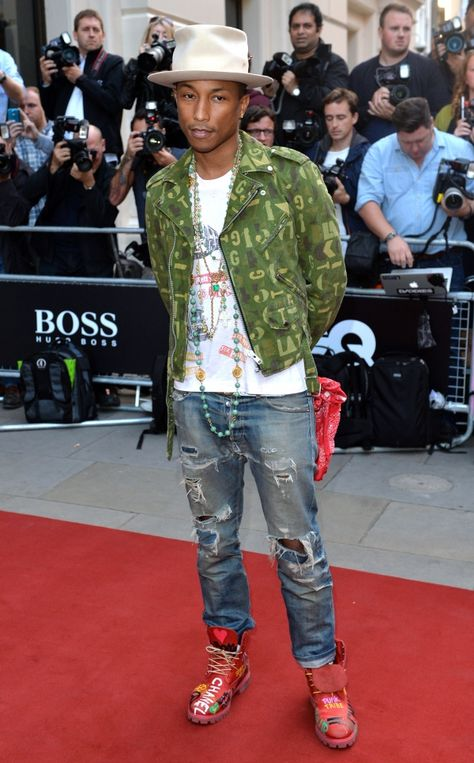 Pharrell Williams will be starring in a Chanel film in December