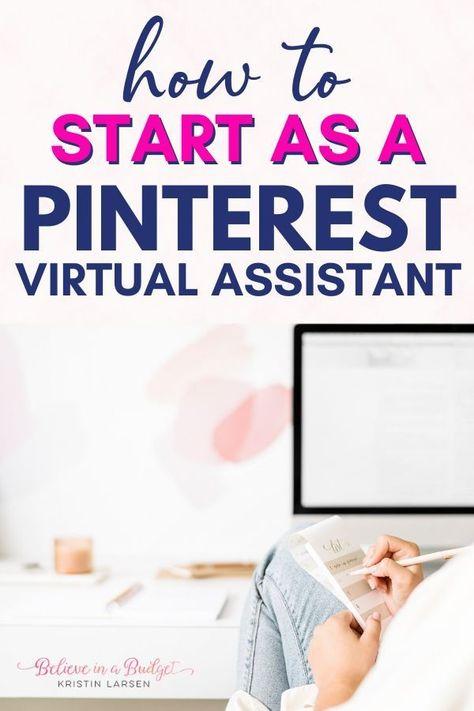 Side Hustle as a Pinterest Virtual Assistant