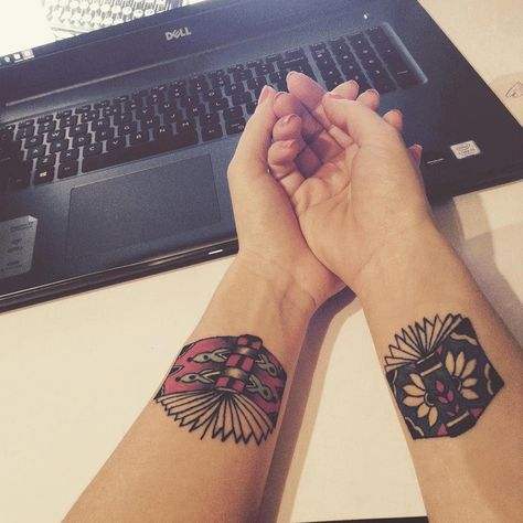 geometric design tattoo #Geometrictattoos
