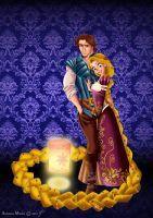 Designer Fairytale: RAPUNZEL + FLYNN by MissMikopete