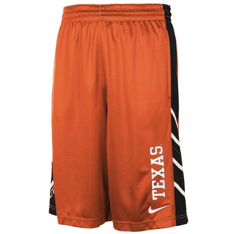 Texas Longhorns Nike Performance Mesh Basketball Shorts