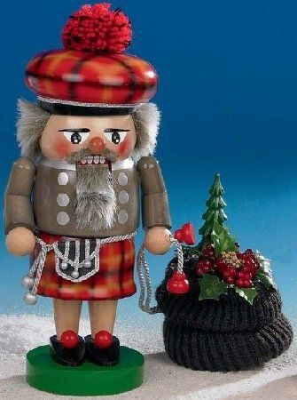 Steinbach Troll Scottish Santa Nutcracker ** This is an Amazon Affiliate link. Check out the image by visiting the link.