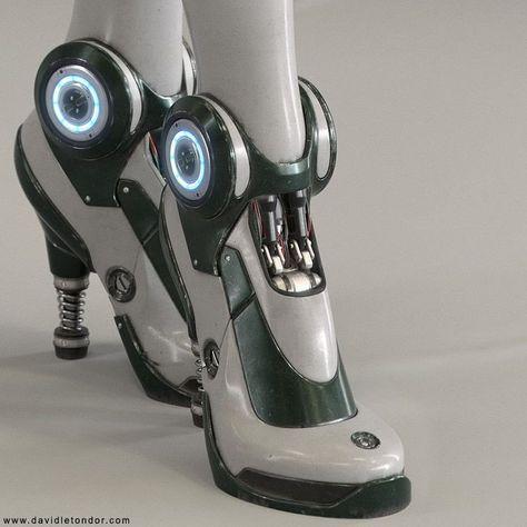 The Robot Art of David Letondor Cyberpunk Mode, Cyberpunk Aesthetic, Cyberpunk Fashion, Robot Concept Art, Robot Art, Robots, Character Design Inspiration, Mode Inspiration, Design Textile