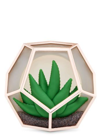 Terrarium Visor Clip Car Fragrance Holder Bath Body Works
