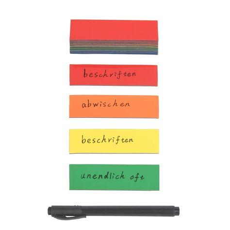 5 Blöcke je 400 Blatt Jumbo Vorteilspack Haftmarker Film je 2 x 5 Farben
