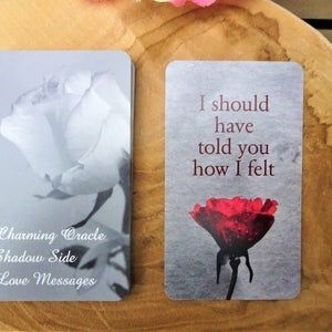Pre Order Charming Secret Love Messages Twin Flames Oracle Cards Love Notes Twin Flame Oracle Soulmate In 2021 Secret Love Messages Love Messages Messages