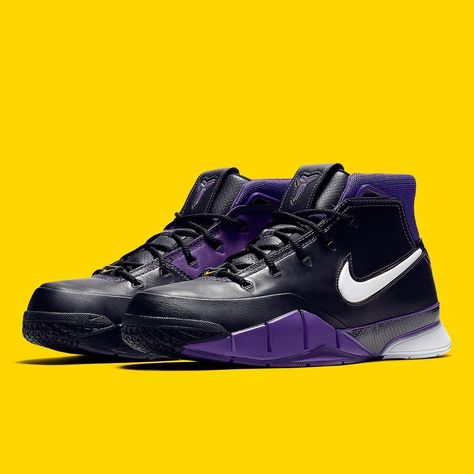 """9cf30f78cd87 Sneaker News on Instagram  """"Another original colorway of Kobe Bryant s  first Nike signature shoe is coming back in the celebrated Protro form."""