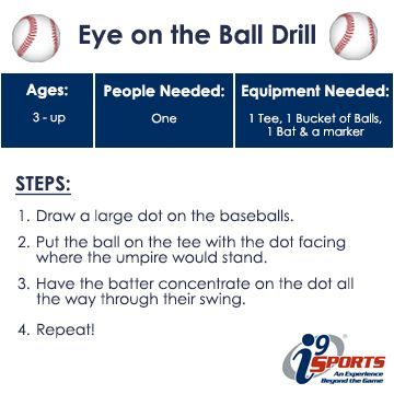 Work on your throwing accuracy with this fun and simple drill.