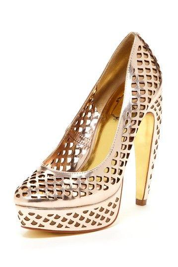 Poppy D Cutout Pump on HauteLook | Heels, Shoes, Beautiful shoes