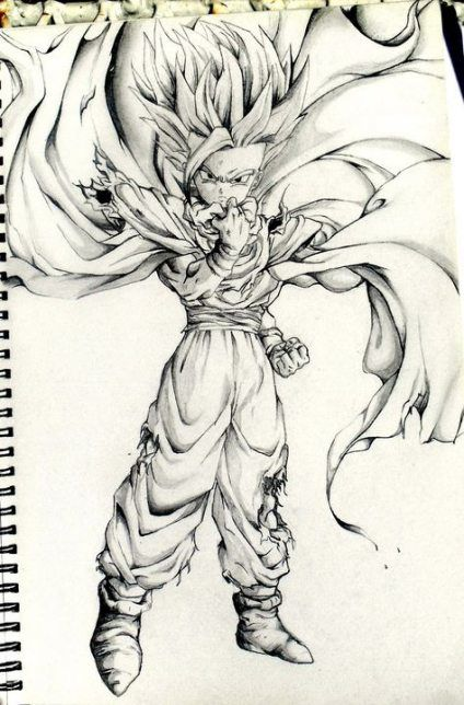 Super Drawing Dragon Ball Dragonball Z Ideas Drawing Dragon