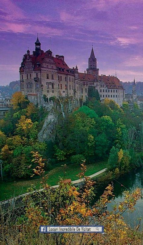 Castelul Sigmaringen, Baden-Wurttemberg, Germania  Like & Share daca va place.