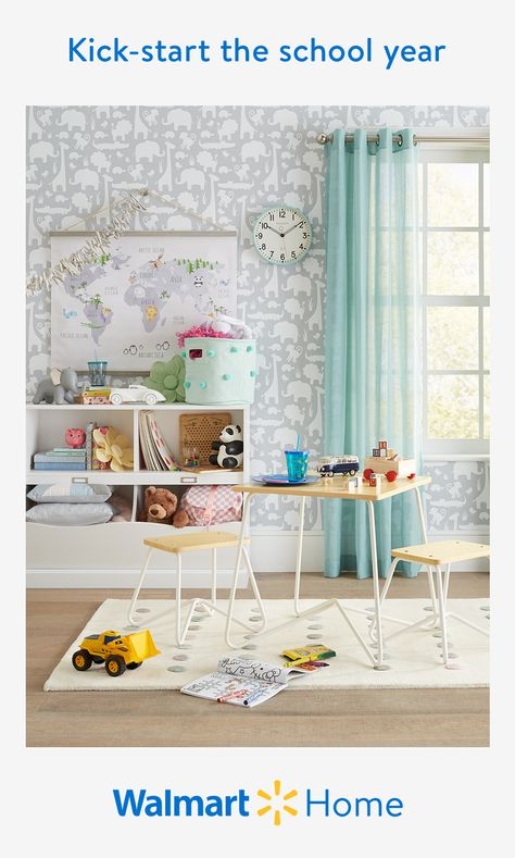 Encourage focus and creativity where it matters the most—at home. Walmart makes it easy to create the perfect learning environment with quality kids' furniture, long-lasting decor, and more smart styles. Find everything the whole family will enjoy at prices you'll love. #WalmartHome