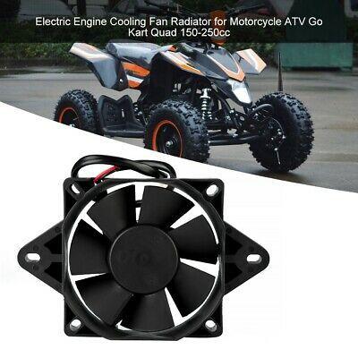 Advertisement Ebay 12v Electric Engine Cooling Fan Radiator Black
