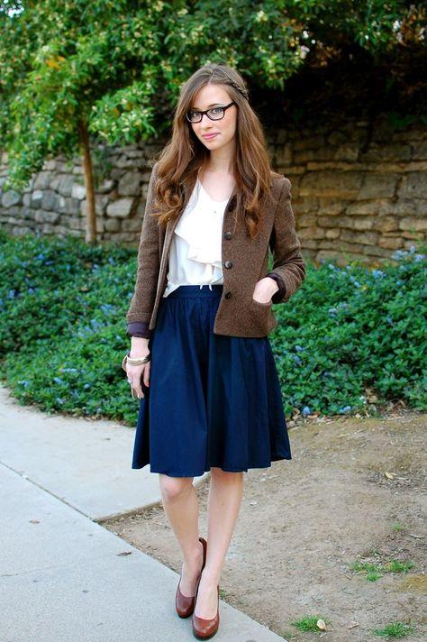 look: full skirt ahead | M Loves M