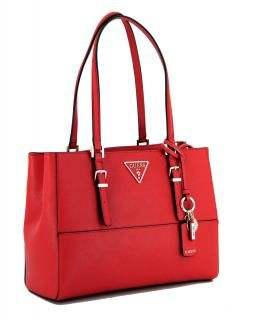 Guess Carys Damenhandtasche zweigeteilt rot Carryall | Bolsos