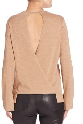 BCBGMAXAZRIA Turner Long Sleeve Sweater