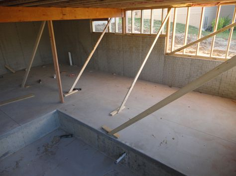 more of the basement....standing in what will be the media room (that has three levels...