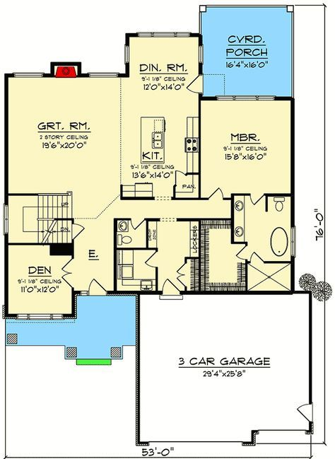 Small House Plans With Open Floor Plan Unique Modern 2 Bedroom Pictures Houses Open Concept House Plans Bedroom House Plans Two Bedroom House