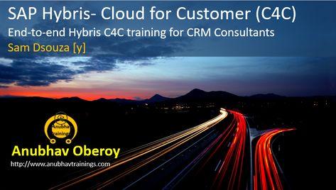 Hybris C/4 Hana Cloud for Customer