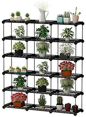 Amazon Com Jyyg Portable Plant Stands Custom Shaped Succulents
