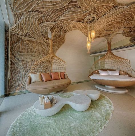 Organic and natural House Thailand, Phuket Hotel: Iniala Beach House - Côté Maison Make sure that th Dream Home Design, Home Interior Design, Interior Architecture, Interior And Exterior, Cultural Architecture, Futuristic Interior, Terracota, Modern Bedroom Design, Aesthetic Rooms