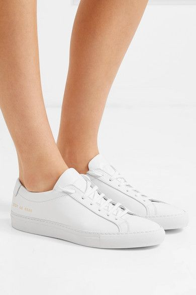 Leather sneakers, Common projects shoes