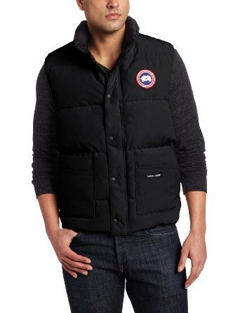 Luxury Canada Goose Freestyle Vest Mid Grey For Men Discount Price and High Quality!