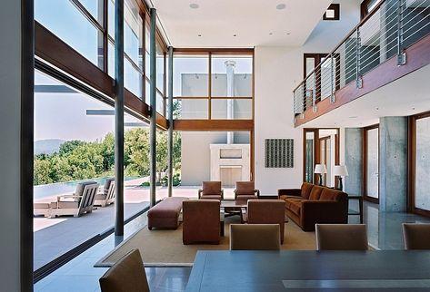 Modern Architecture Houses Interior stylish and modern interior decor from famous modern architecture
